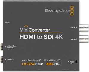 BLACKMAGIC-HDMI to SDI-SPEAR'HIT