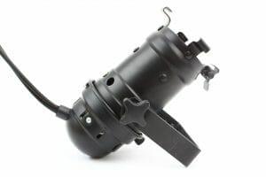 Projecteur PAR 16 noir