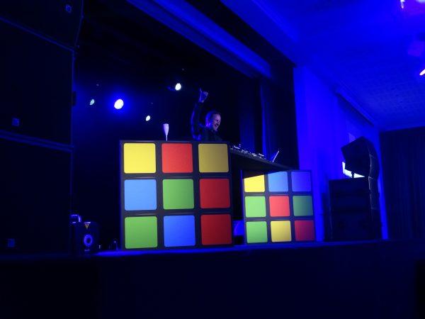 Régie DJ Rubik's Cube Nuit des Acturaires 2017