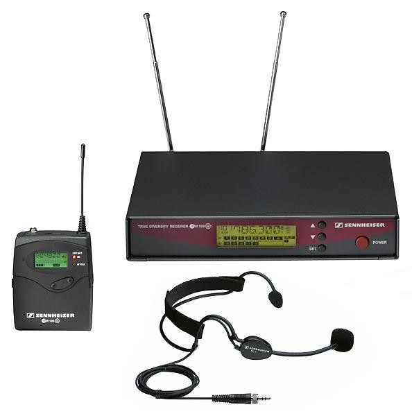 SENNHEISER- EW -165 G3 + Micro Serre-tête-SPEAR'HIT