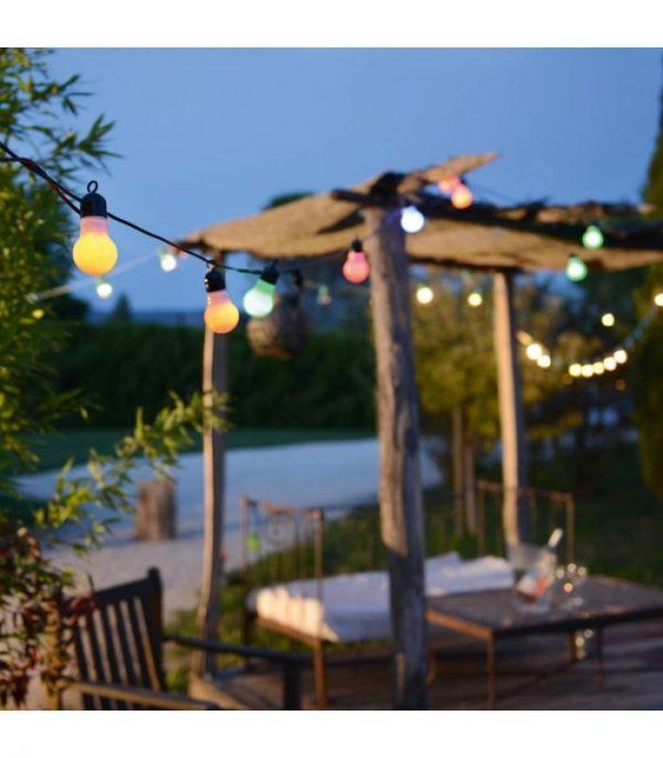 Guirlande fête multicolore LED - Blachère